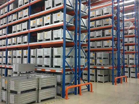 Three dimensional warehouse shelf