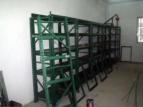 High weight mold rack