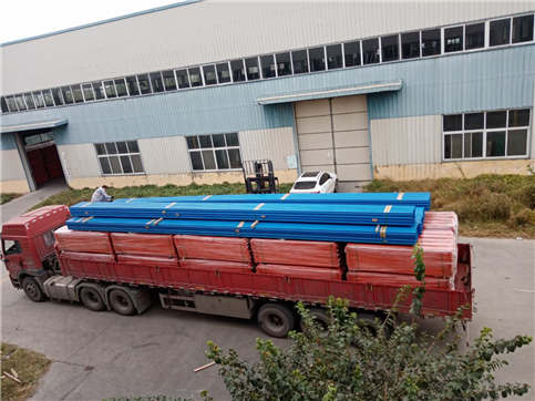 Installation of heavy beam shelf in Puyang warehouse is completed (installation case of heavy beam