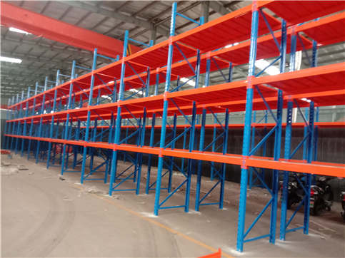 Installation drawing of heavy beam shelf in Xiangfen County, Shanxi Province (installation picture