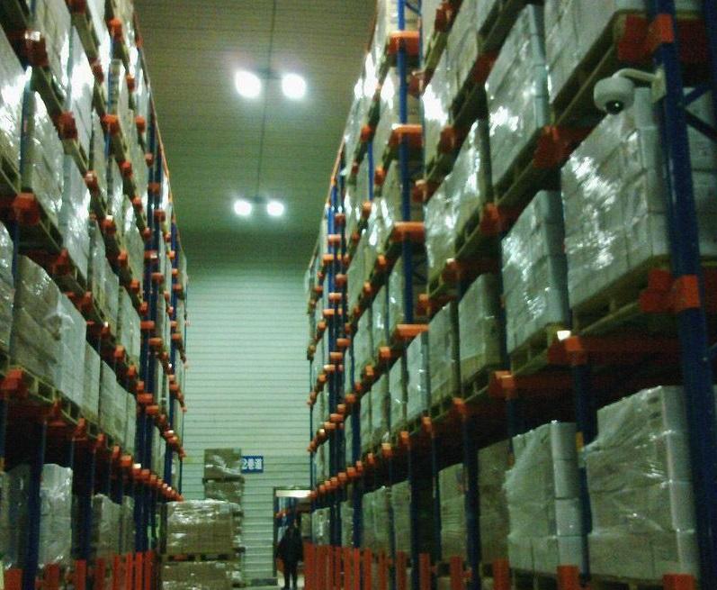 Food cold storage shelf