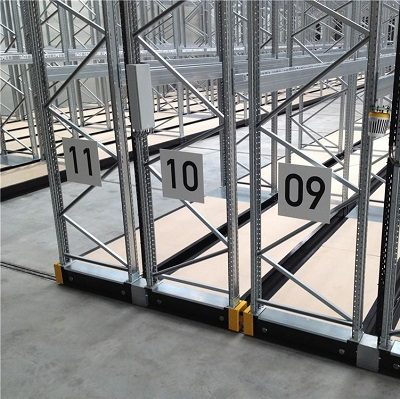 Warehouse electric movable shelf