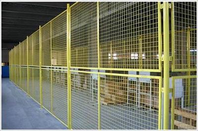 Warehouse plant isolation network