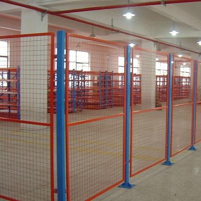 Warehouse shelf isolation net