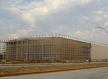 Intelligent rack integrated warehouse