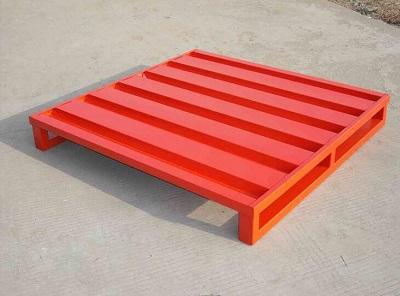 Warehouse shelf steel pallet