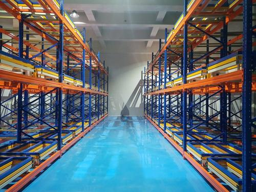 Are storage shelves and pallet shelves first in first out