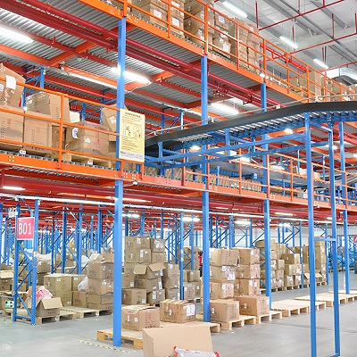 What are the types of heavy shelves in the warehouse